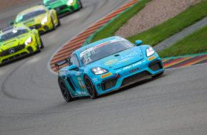 Constantin Schöll Javin Lewis Seyhan Allied-Racing Porsche Cayman GT4 ADAC GT4 Germany Sachsenring