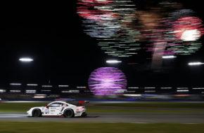 Nick Tandy Frédéric Makowiecki Matt Campbell Porsche GT Team Porsche 911 RSR IMSA WeatherTech SportsCar Championship 24h Daytona