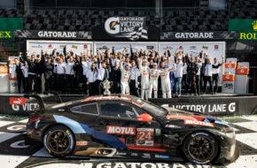 John Edwards Augusto Farfus Chaz Mostert Jesse Krohn BMW Team RLL BMW M8 GTE IMSA WeatherTech SportsCar Championship 24h Daytona