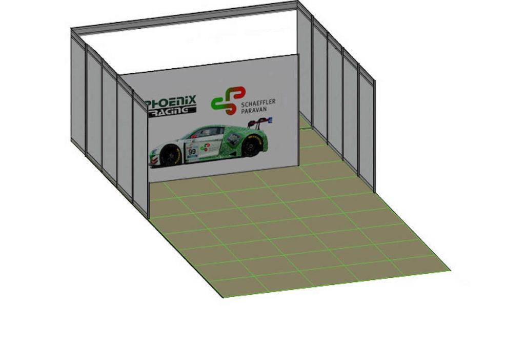 Boxenzelt GTC Race