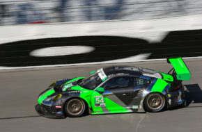 Tim Pappas Jeroen Bleekemolen Trenton Estep Sven Müller Black Swan Racing Porsche 911 GT3 R IMSA WeatherTech SportsCar Championship 24h Daytona