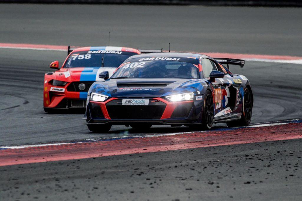 Rahel Frey Mike Beckhusen Alex Welch Heinz Schmersal Heide-Motorsport Audi R8 LMS GT4 24h Dubai