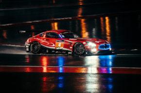 Ben Barker Jeroen Bleekemolen Khaled Al Qubaisi Manuel Metzger Hubert Haupt Black Falcon Mercedes AMG GT3 24h Dubai