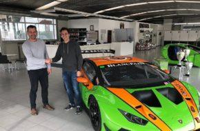 Clemens Schmid GRT Grasser Racing Team Lamborghini Huracan GT3