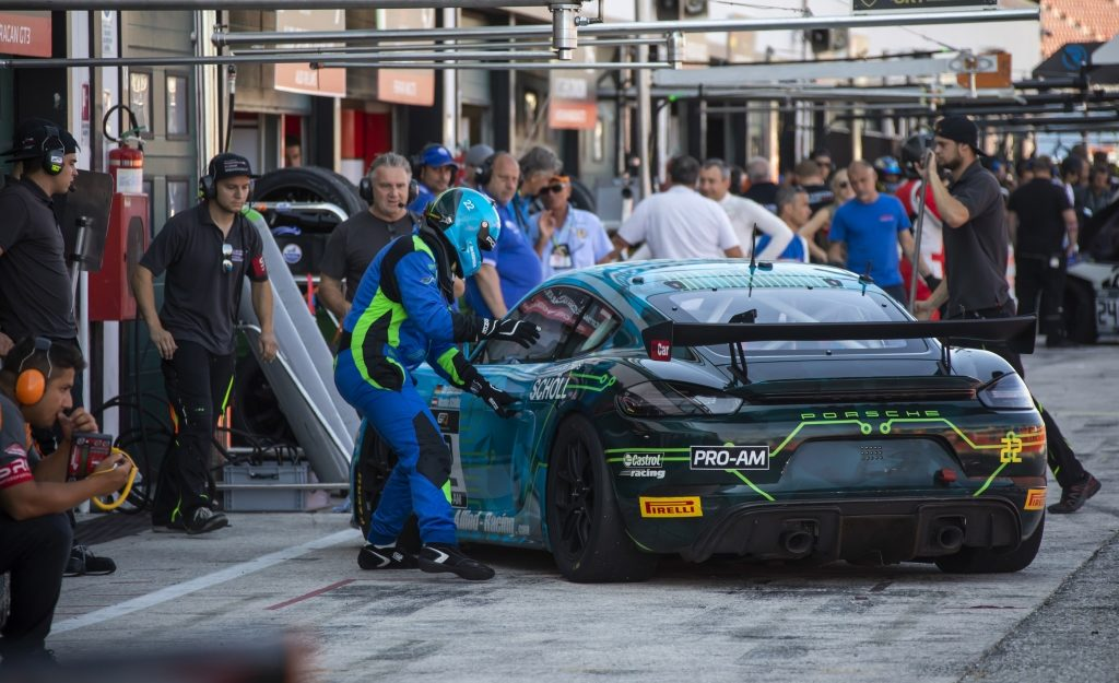 Jan Kasperlik Nicolas Schöll Allied-Racing Porsche Cayman GT4 European Series Misano