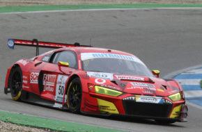 Alec Udell Kim-Luis Schramm Phoenix Racing Audi R8 LMS DMV GTC Hockenheim