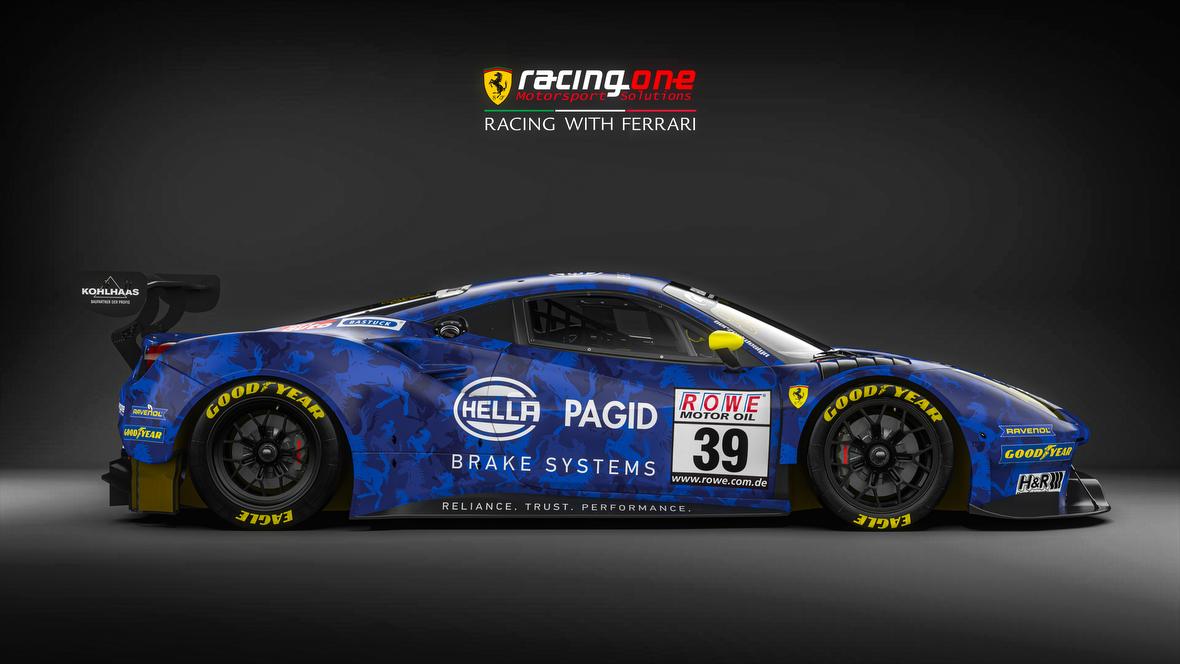 Tschüss Ferrari 458 Hallo Ferrari 488 Gt3 Evo Racing One Rüstet Sich Für Saison 2020 Gt Place Com