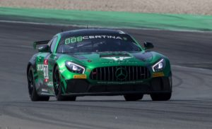 Angélique Detavernier David Dermont Selleslagh Racing Team Mercedes AMG GT4 GT4 European Series Nürburgring