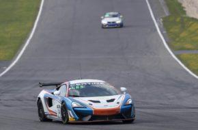 Benjamin Lessennes Daniel McKay Equipe Verschuur McLaren 570S GT4 GT4 European Series Nürburgring