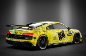 Felix von der Laden Superdrink by SPIELKIND Racing Audi R8 LMS GT4 DTM Trophy