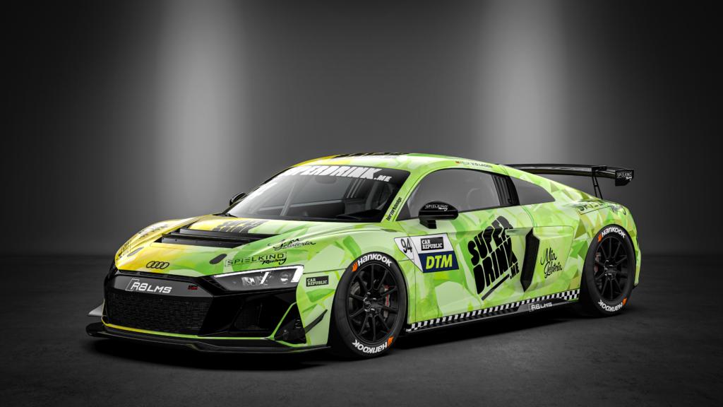 Felix von der Laden Superdrink by SPIELKIND Racing Audi R8 LMS GT4 DTM Trophy