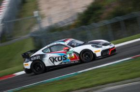 Hendrik Still Horst Hadergasser KÜS Team75 Bernhard Porsche Cayman ADAC GT4 Germany Nürburgring