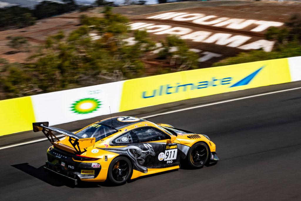 Matt Campbell Patrick Pilet Mathieu Jaminet Absolute Racing Porsche 911 GT3 R Intercontinental GT Challenge 12h Bathurst