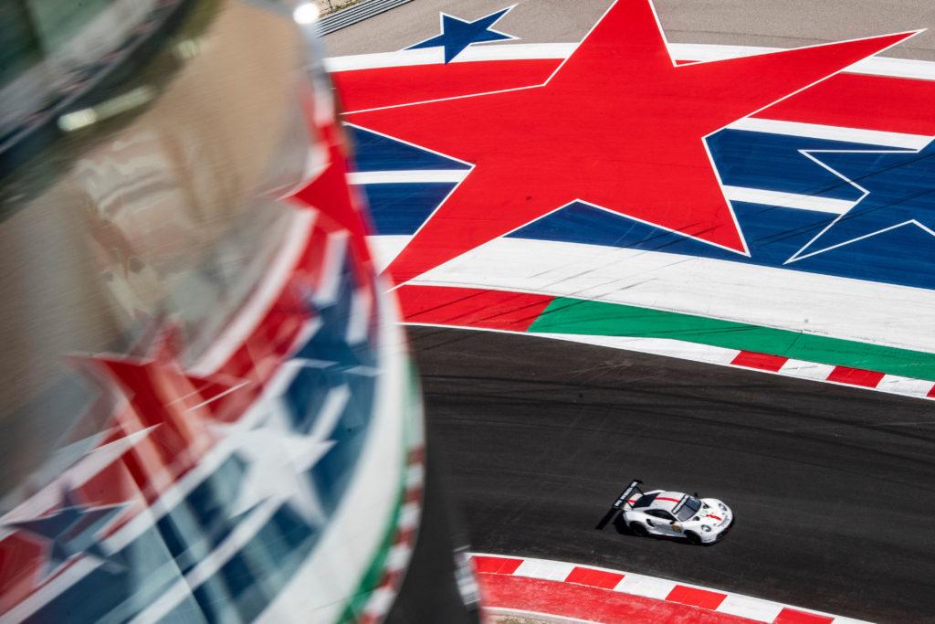 Michael Christensen Kevin Estre Porsche GT Team Porsche 911 RSR FIA WEC Austin