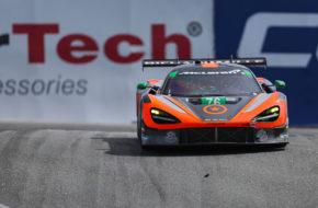 Paul Holton Matt Plumb Compass Racing McLaren 720S GT3 IMSA WeatherTech SportsCar Championship Laguna Seca