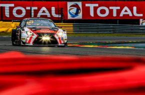 Fabien Barthez Bernard Delhez Eric Cayrolle Timothé Buret Tech 1 Racing Lexus RC F GT3 24h Spa