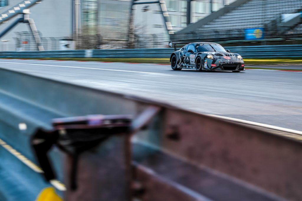 Black Falcon Porsche 911 GT3 Cup MR Nürburgring Langstrecken-Serie