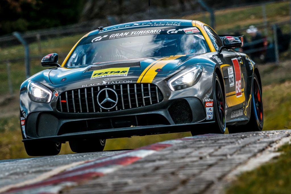 Black Falcon Mercedes AMG GT4 Nürburgring Langstrecken-Serie