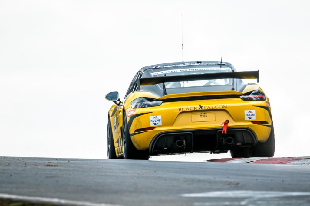 Black Falcon Porsche Cayman GT4 Nürburgring Langstrecken-Serie
