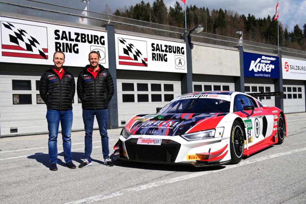 Simon Reicher Norbert Siedler Yaco Racing Audi R8 LMS ADAC GT Masters