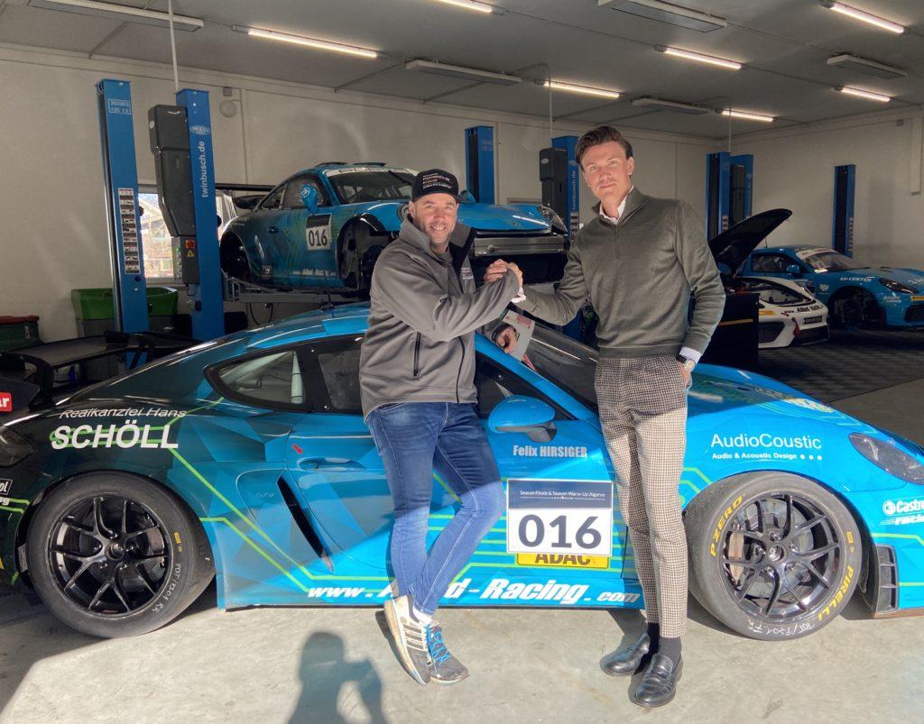 Felix Hirsiger Allied-Racing Porsche Cayman DTM Trophy