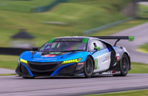 Gradient Racing Acura NSX GT3 Marc Miller Till Bechtolsheimer