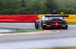 Matthieu Vaxivière Matt Parry Maxime Martin R-Motorsport Blancpain GT Series Endurance Cup 24h Spa