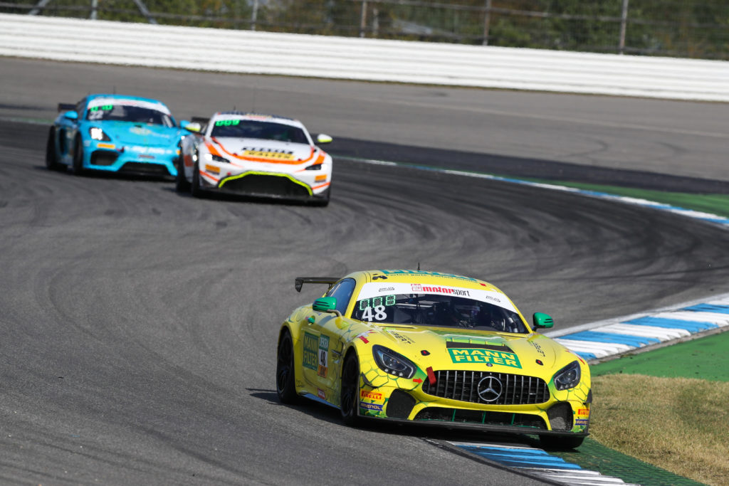 Luci Trefz Morgan Haber Leipert Motorsport Mercedes AMG GT4 ADAC GT4 Germany Hockenheim