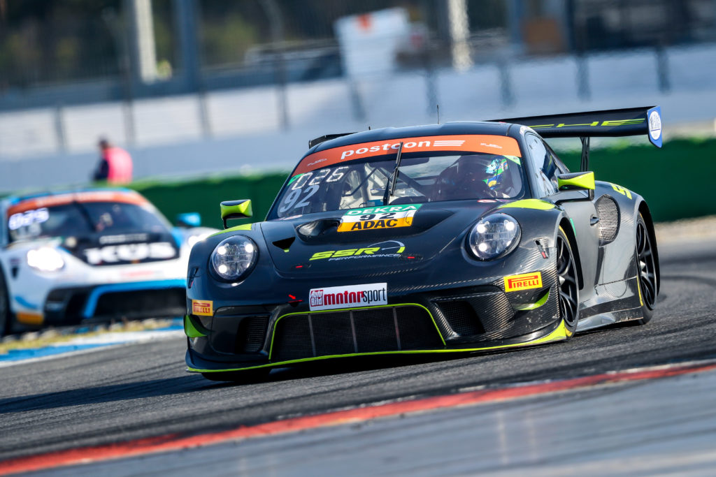 Matt Campbell Marco Seerfried SSR Performance Porsche 911 GT3 R ADAC GT Masters Hockenheim