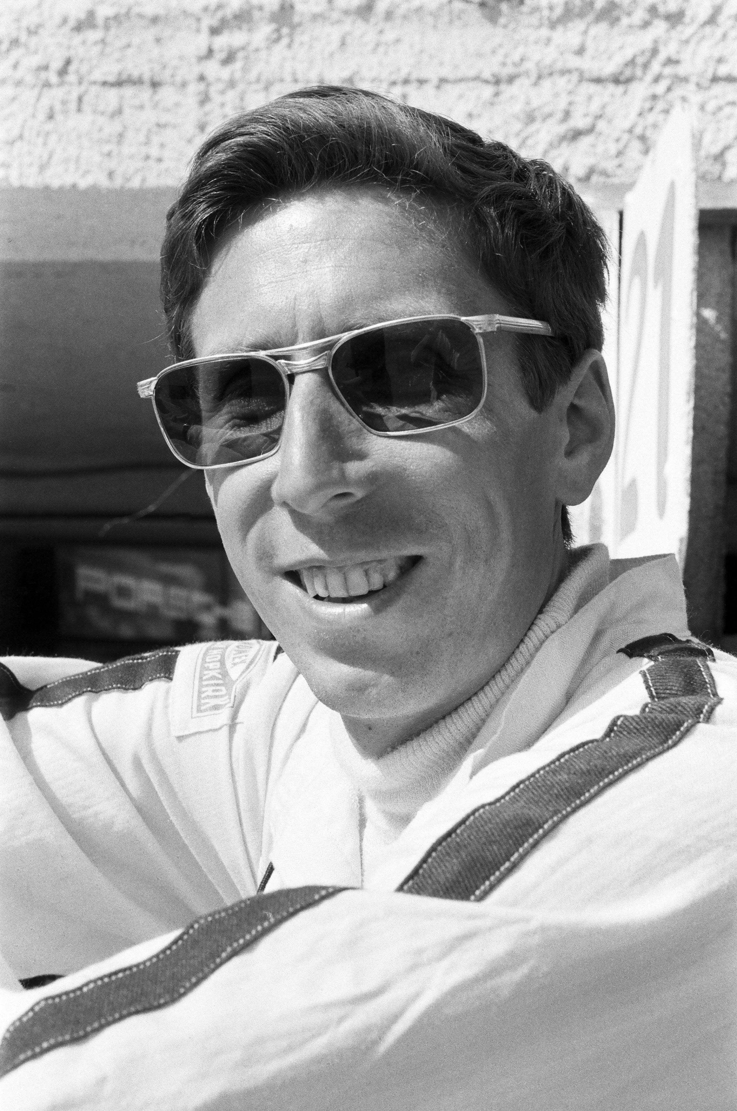 Targa Florio, 04.05.1969, Porsche-Rennfahrer Dieter Spoerry