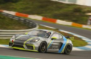 Dominik Schraml Dennis Richter Burgmann Racing Porsche Cayman GT4