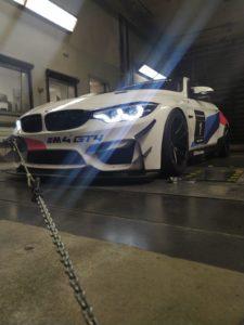 BMW M4 DTM Trophy Windkanal