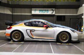 Porsche Cayman Pro4 DTM Trophy Windkanal