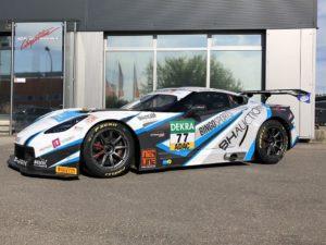Markus Pommer Jeffrey Schmidt Callaway Competition Corvette C7 GT3-R ADAC GT Masters