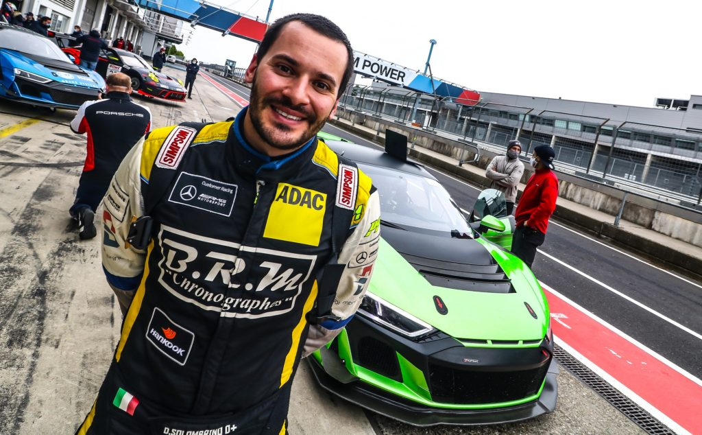 Domenico Solombrino Racing One Audi R8 LMS GT4