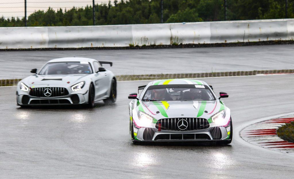 Rinaldi Racing Mercedes AMG GT4