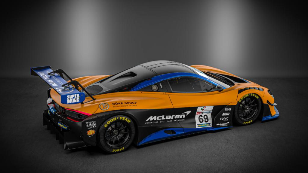 Dörr Motorsport McLaren 720S GT3