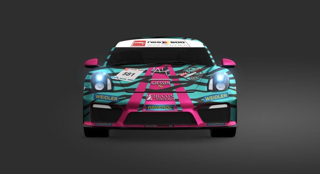 Julian Würtele Kevin Rohrscheid RN Vision STS Racing Porsche Cayman GT4 CS
