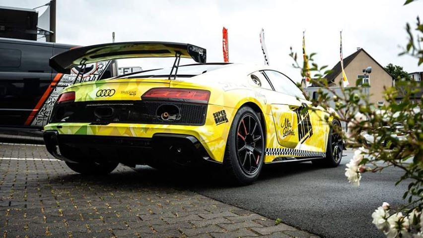 Felix von der Laden Car Republic Audi R8 DTM Trophy