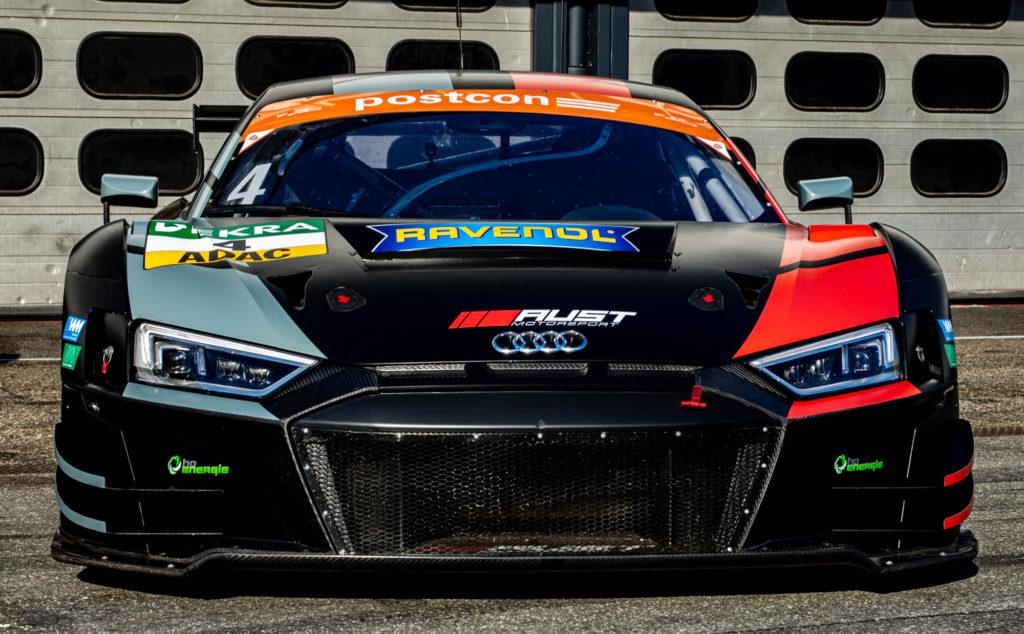 Hendrik von Danwitz Aust Motorsport Audi R8 LMS ADAC GT Masters