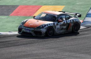 Tano Neumann Schütz Motorsport Porsche 718 Cayman GT4 Clubsport
