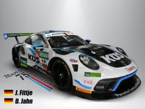 David Jahn Jannes Fittje KÜS Team75 Bernhard Porsche 911 GT3 R ADAC GT Masters