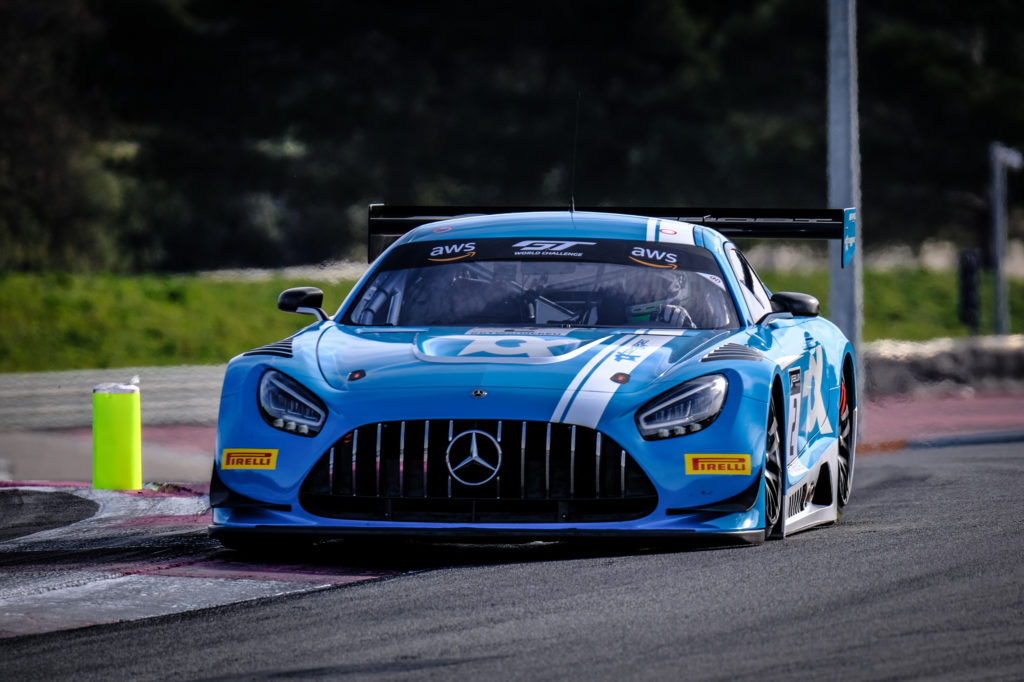 Oscar Tunjo Toksport WRT Mercedes AMG GT3 GT World Challenge Europe Le Castellet