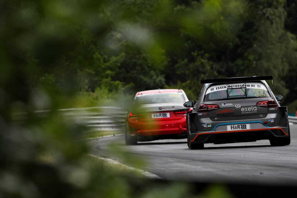 Volker Garrn Johann Wanger Sharky-Racing VW Golf GTI TCR Nürburgring Langstrecken-Serie Nürburgring-Nordschleife