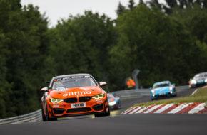 Christian Konnerth Nico Otto Pavel Lefterov FK Performance BMW M4 GT4 Nürburgring Langstrecken-Serie Nürburgring-Nordschleife