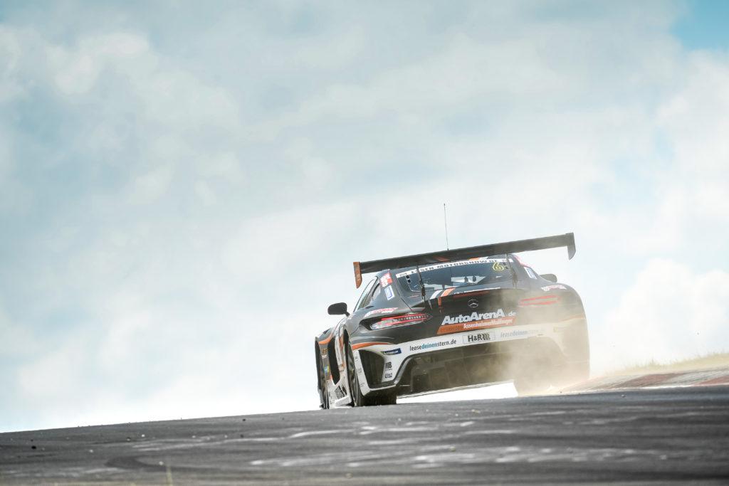 Patrick Assenheimer Maro Engel HAUPT RACING TEAM Mercedes AMG GT3 Nürburgring Langstrecken-Serie Nürburgring-Nordschleife