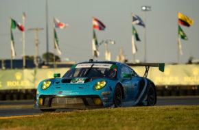 Ryan Hardwick Patrick Long Anthony Imperato Klaus Bachler Wright Motorsports Porsche 911 GT3 R IMSA WeatherTech SportsCar Championship 24h Daytona