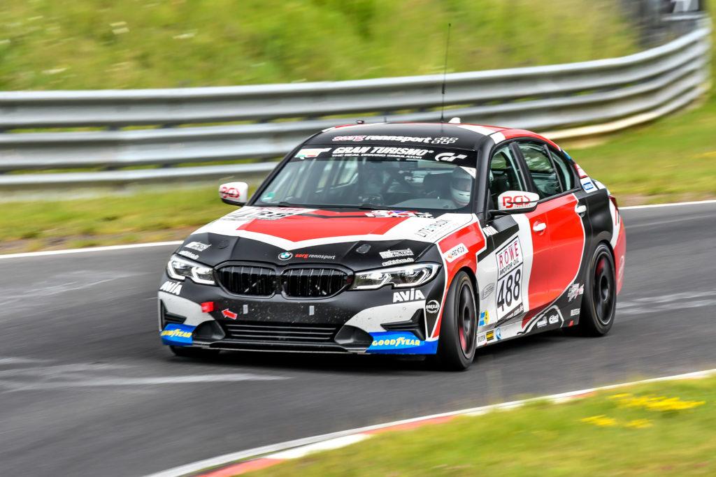 Sorg Rennsport BMW 330i Nürburgring Langstrecken-Serie Nürburgring-Nordschleife
