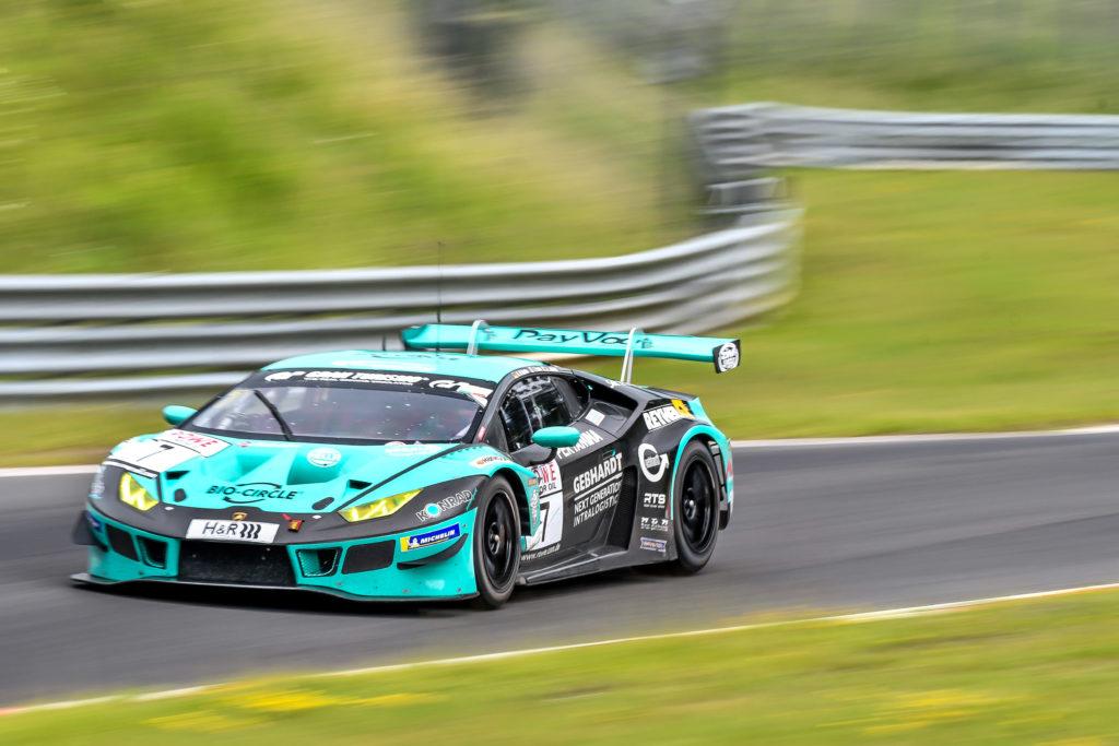 Axcil Jefferies Konrad Motorsport Lamborghini Huracan GT3 Nürburgring Langstrecken-Serie Nürburgring-Nordschleife