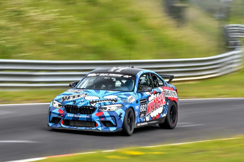 Walkenhorst Motorsport BMW M2 CS Racing Nürburgring Langstrecken-Serie Nürburgring-Nordschleife
